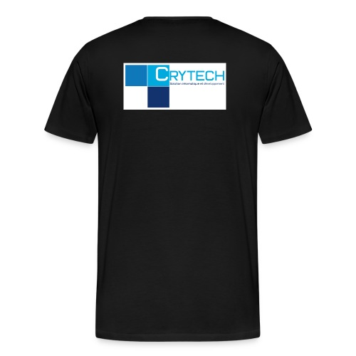 Logo crytech - T-shirt Premium Homme