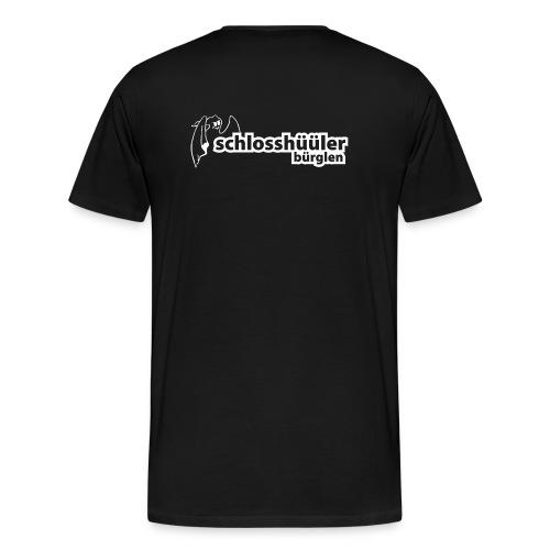 Fages Logo weiss png - Männer Premium T-Shirt