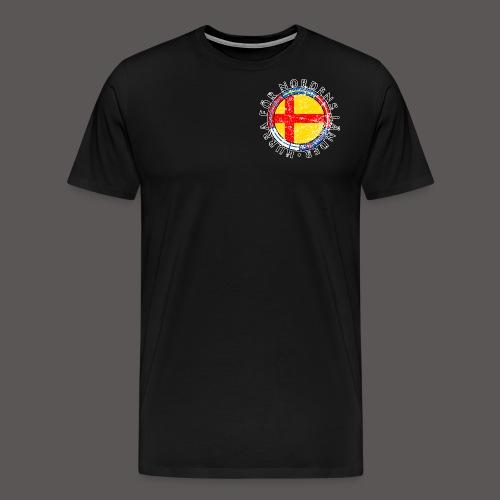 Hurra för Nordens länder2 - Premium-T-shirt herr