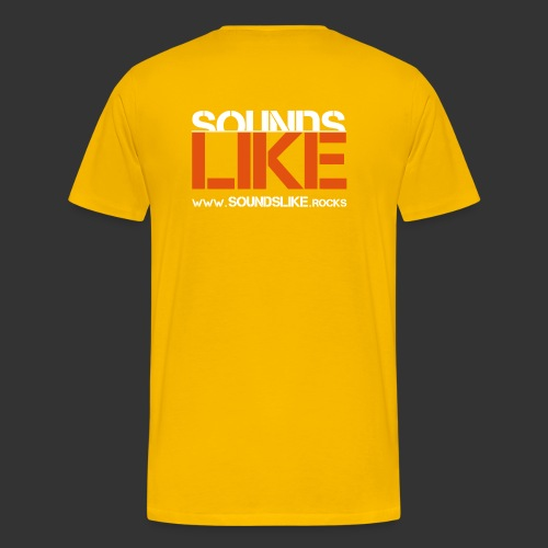 Vec. SL Logo HP - Männer Premium T-Shirt