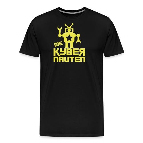 kyber_logo1_schwarz - Männer Premium T-Shirt