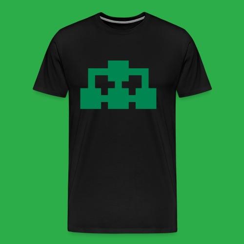 BiG Network ikon grön - Premium-T-shirt herr