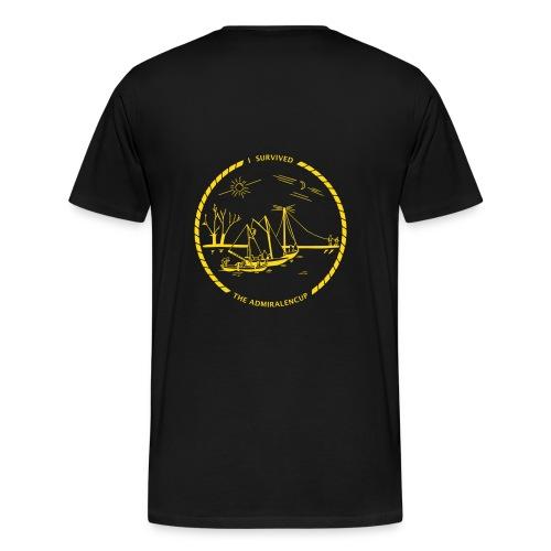 Admiralencup logo4 - Mannen Premium T-shirt