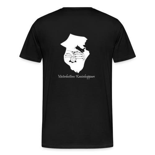 Klubbtröja, tryck bak - Premium-T-shirt herr