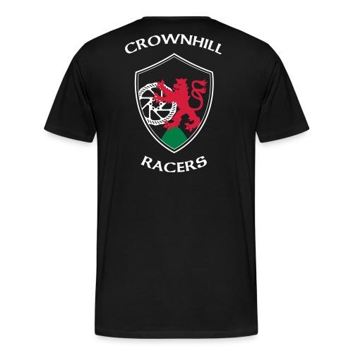 Crownhill Flexdruck Flat - Männer Premium T-Shirt