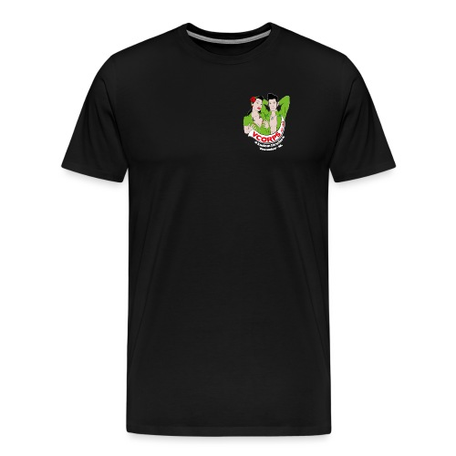 VCorps Logo PinUps - Mannen Premium T-shirt