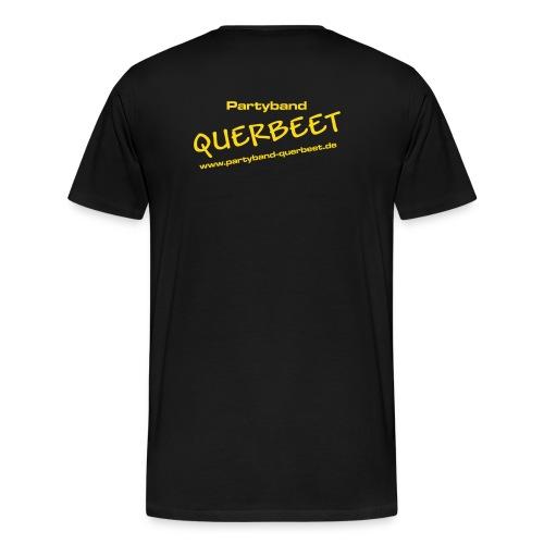 Querbeet new yellow - Männer Premium T-Shirt
