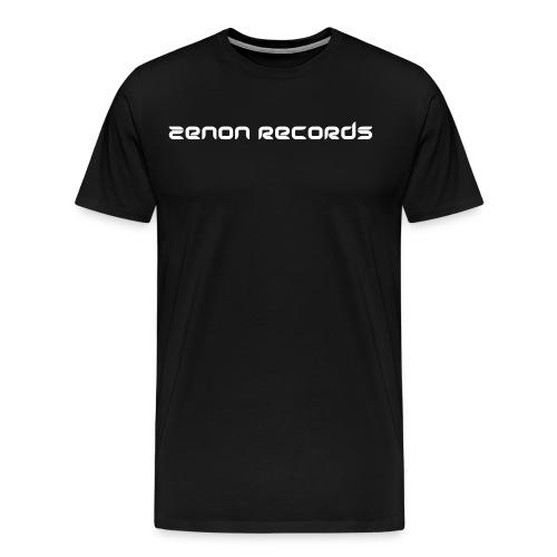 zenon text black - Men's Premium T-Shirt