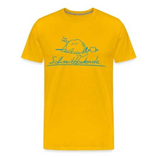 Schreibblockade - Männer Premium T-Shirt