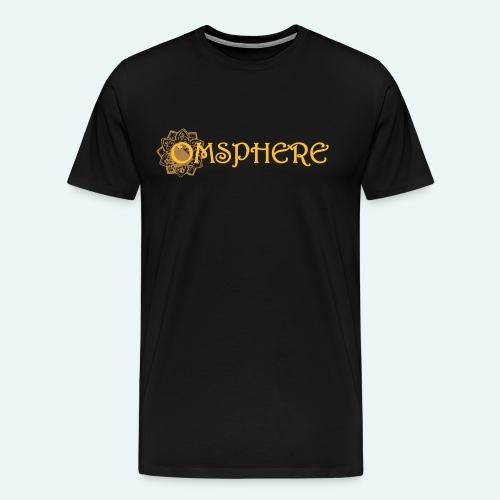 omsphere logo full - Men's Premium T-Shirt