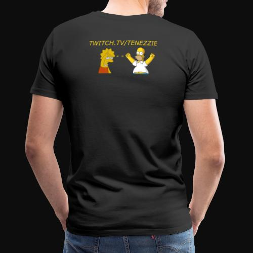 Tenezzie fan - Herre premium T-shirt