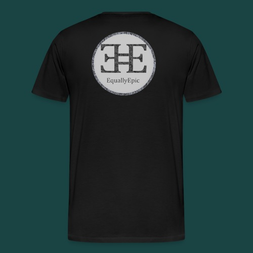 Black Male Tee 2 long - Men's Premium T-Shirt