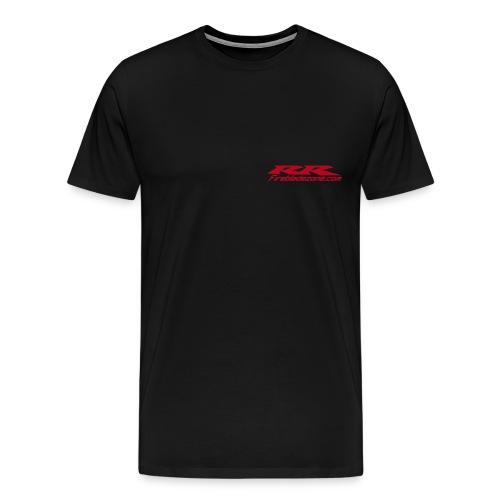 rr firebladezonecom tall font - T-shirt Premium Homme