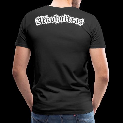 Alkohultras Rücken - Männer Premium T-Shirt
