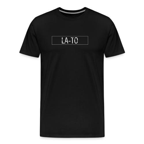 La to blank white png - Men's Premium T-Shirt