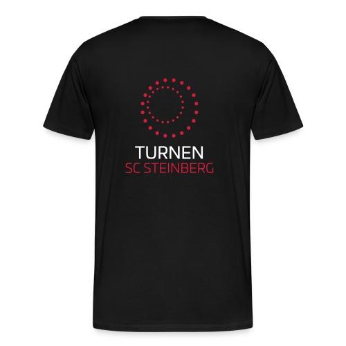 Logo der Turnabteilung des SC Steinbergs - Männer Premium T-Shirt