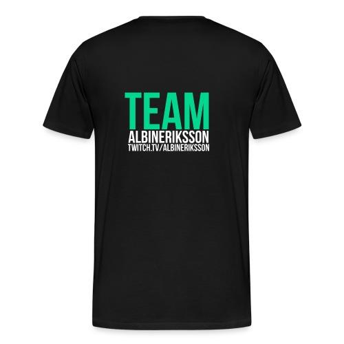 Team albinerikss0n - Premium-T-shirt herr