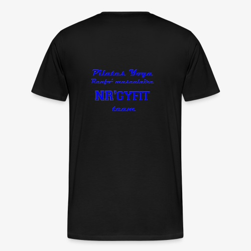 NRgyfit Team bleu Tshirt by NR'gyfit Nature - T-shirt Premium Homme