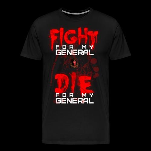 Bloody Fight Die - Men's Premium T-Shirt