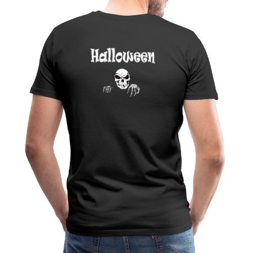 Halloween Dead Head Design - Männer Premium T-Shirt
