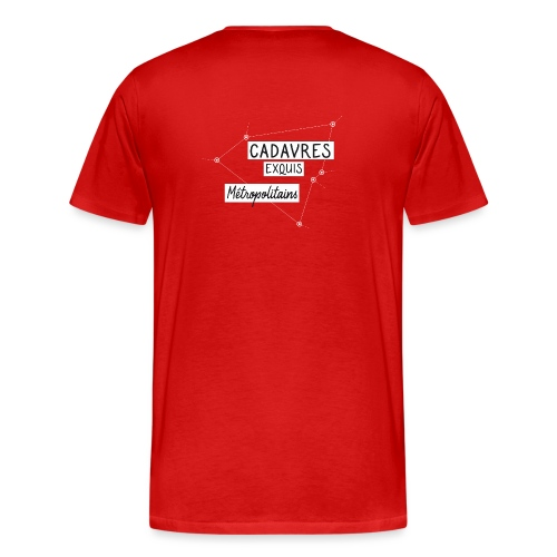 Cadavres Exquis Métropolitains - T-shirt Premium Homme