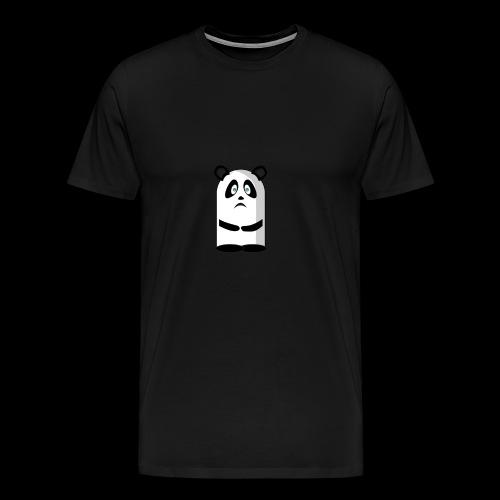 Mascotte panda triste - T-shirt Premium Homme