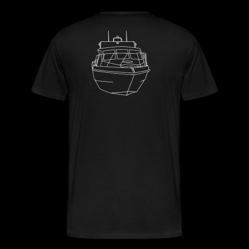 Ocean Cobra White - Men's Premium T-Shirt