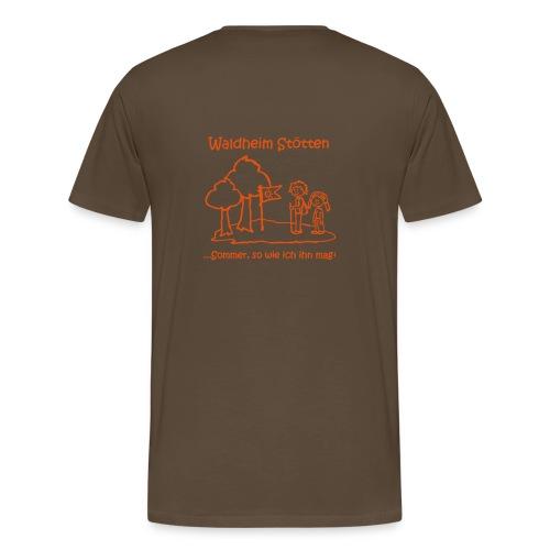 Waldheim Stötten Sommer so wie ich ihn mag - Männer Premium T-Shirt