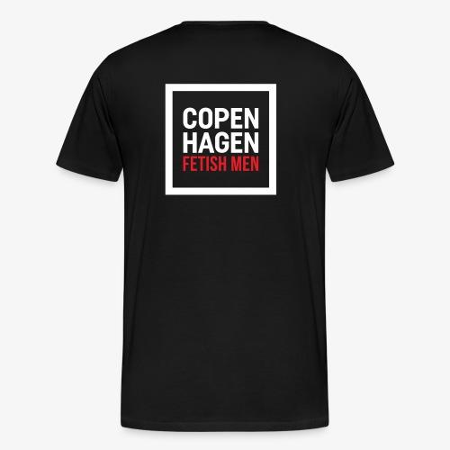 CFM Big Logo - Herre premium T-shirt
