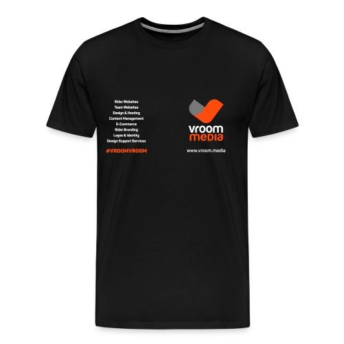 vroom-t-back copy 3 - Men's Premium T-Shirt