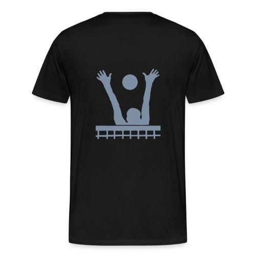 T-shirt volley grande taille, 4 coloris - T-shirt Premium Homme