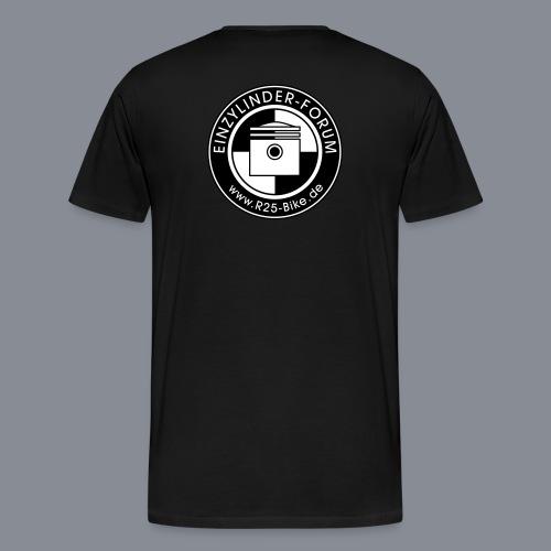 Logo Kolben - Männer Premium T-Shirt