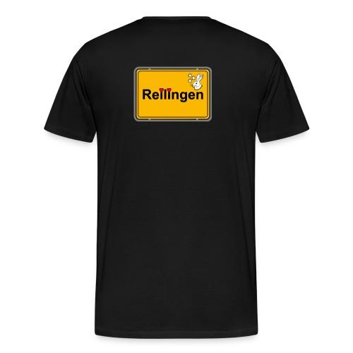 Reilinger Ortsschild - Männer Premium T-Shirt