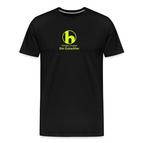 huesges_ohne_c_blau - Männer Premium T-Shirt