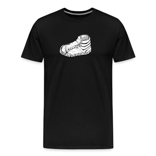 Unable To Move Logo - Männer Premium T-Shirt