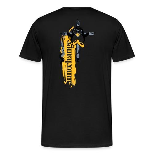 fertig flo sein pinguin - Männer Premium T-Shirt