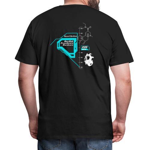 220bpm png - T-shirt Premium Homme