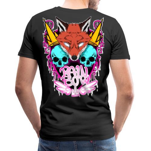 Foxie-print - Miesten premium t-paita