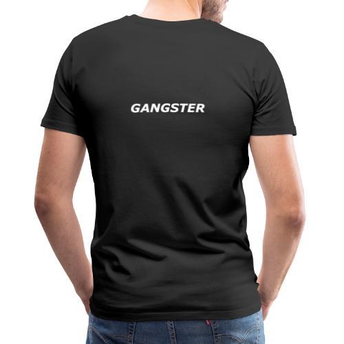 GANGSTER ECRIT - T-shirt Premium Homme