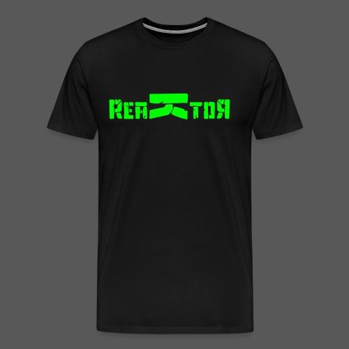 ReaKtoR Bandlogo - Männer Premium T-Shirt