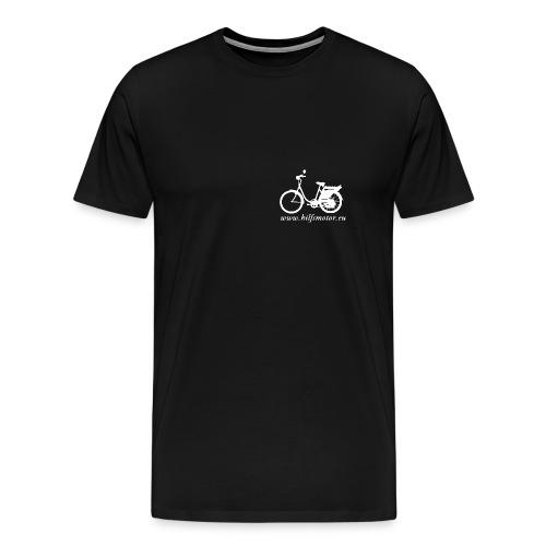 saxoweiss png - Männer Premium T-Shirt