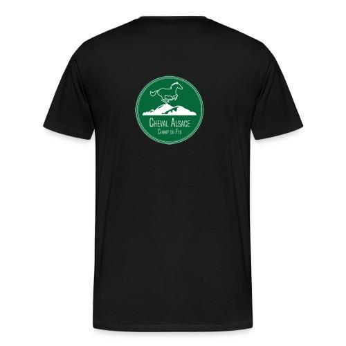 CHEVAL ALSACE- logo - T-shirt Premium Homme