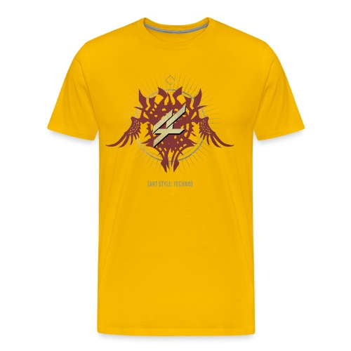 AST01FRONT png - Men's Premium T-Shirt