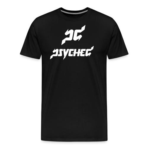 psyched-logo-finalwhite - Mannen Premium T-shirt