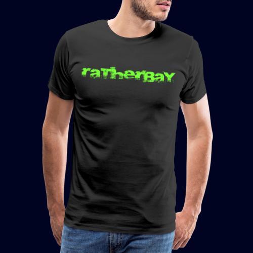 ratherbay logo - Premium T-skjorte for menn