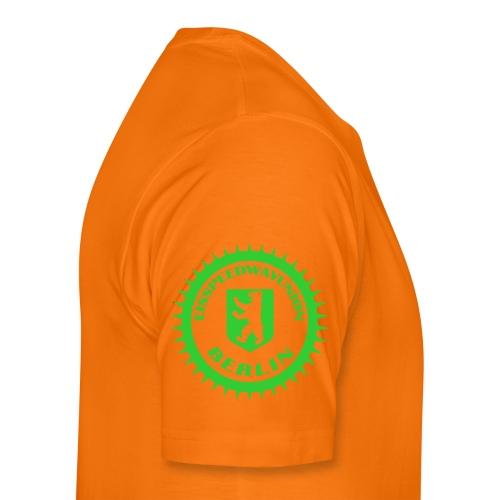 Logo klein ESU transp Green - Männer Premium T-Shirt