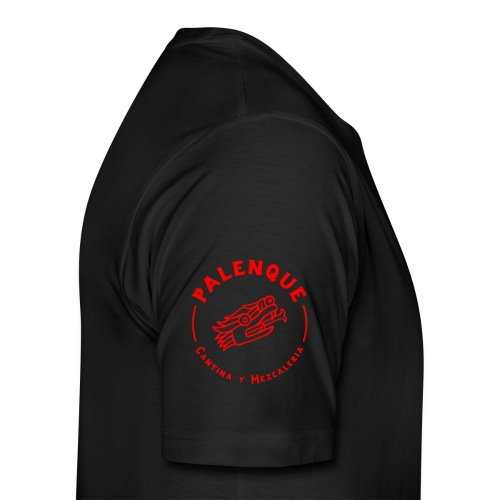 Tête de serpent rouge de Palenque - T-shirt Premium Homme
