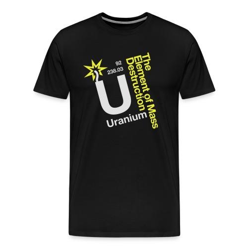 OBE Uranium - Men's Premium T-Shirt