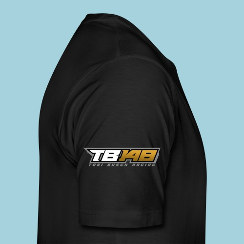 Tobi Logo Grau - Männer Premium T-Shirt