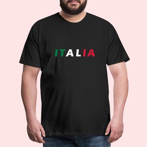 Italia Color Fan - Camiseta premium hombre
